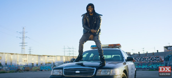 """Jarren Benton Debuts Controversial """"Anarchy"""" Video In Response To Police Brutality"""