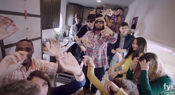 Lil Jon Throws Tiny House Nation Party With FYI