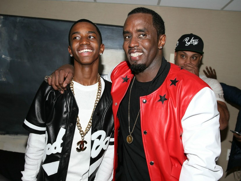 Puff Daddy Signs Son To Bad Boy Entertainment For 18th Birthday