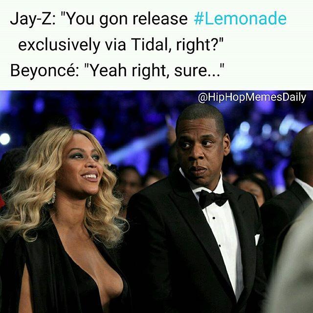 Beyonce-Jay-Lemonade-Tidal-Meme