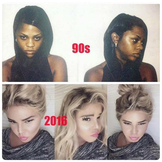 All Eyez On Memes: What Happened To Lil Kim's Face?