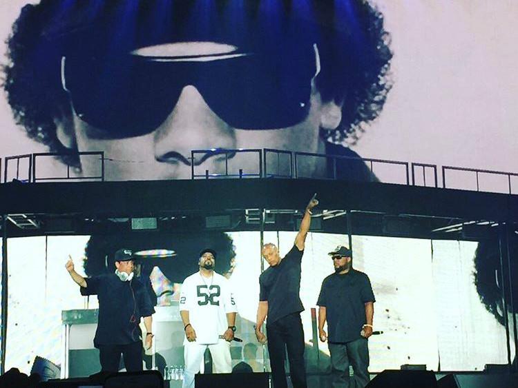 N.W.A Reunites With Dr. Dre At Ice Cube's Coachella Set