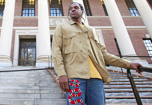 Pusha T Gives Lecture To Harvard Business School Students