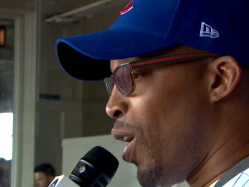 """Warren G Butchers """"Take Me Out To The Ball Game"""" During Chicago Cubs Game"""