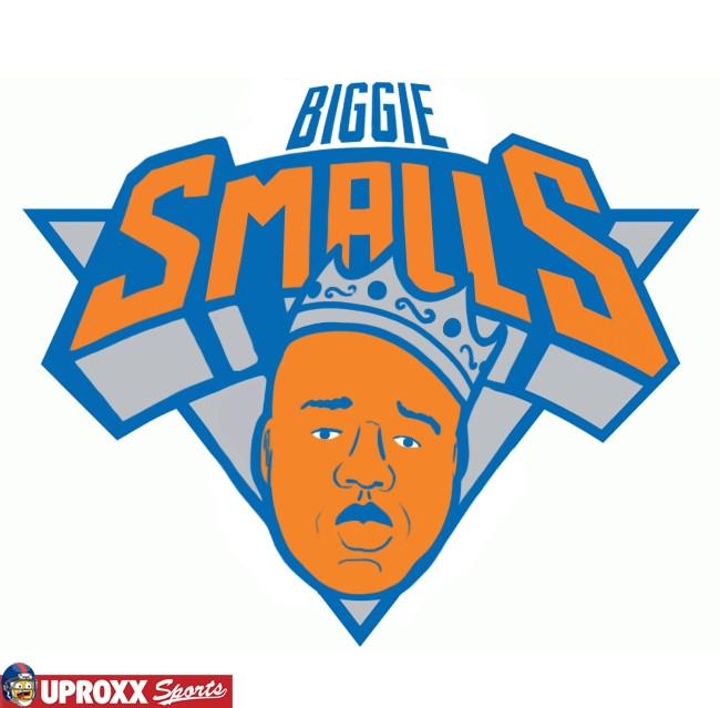 biggie new york knicks logo