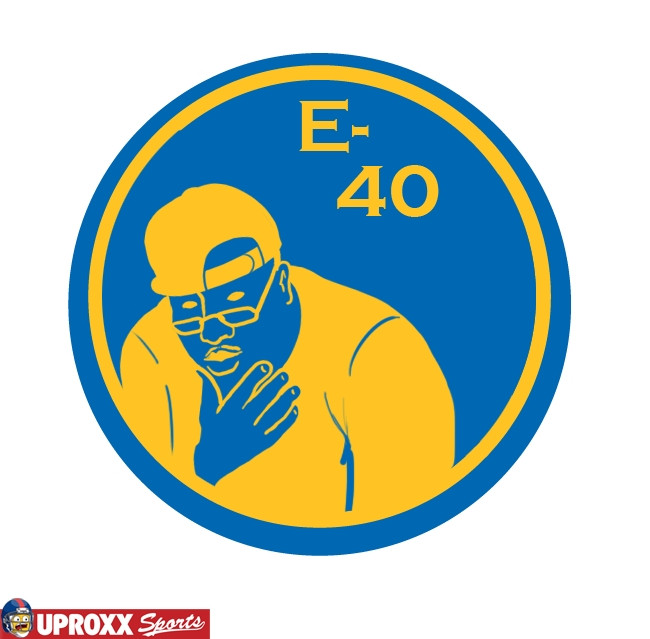 e-40 golden state warriors logo