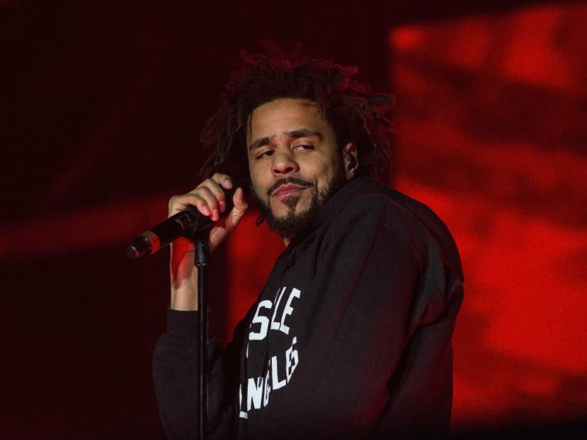 J. Cole Snags Third Platinum Single