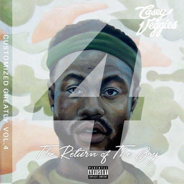 "Casey Veggies ""Customized Greatly 4"""