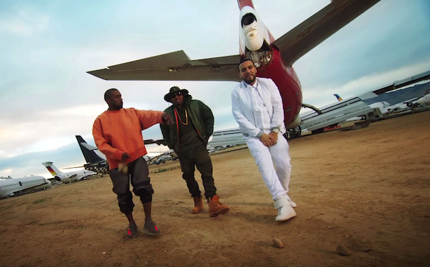 "Kandypens & French Montana ""Figure It Out"" With Kanye West & Nas"