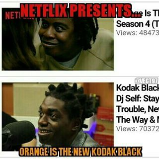 Kodak-Black-Orange-Is-The-New-Black-Meme