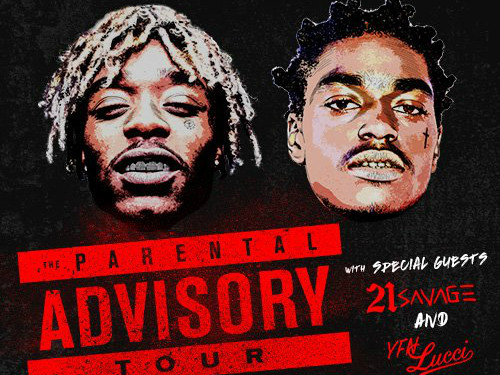 "Lil Uzi Vert x Kodak Black Announce ""Parental Advisory Tour"""