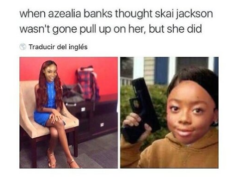 All Eyez On Memes: Azealia Banks Gets Destroyed By A 14-Year-Old Disney Star