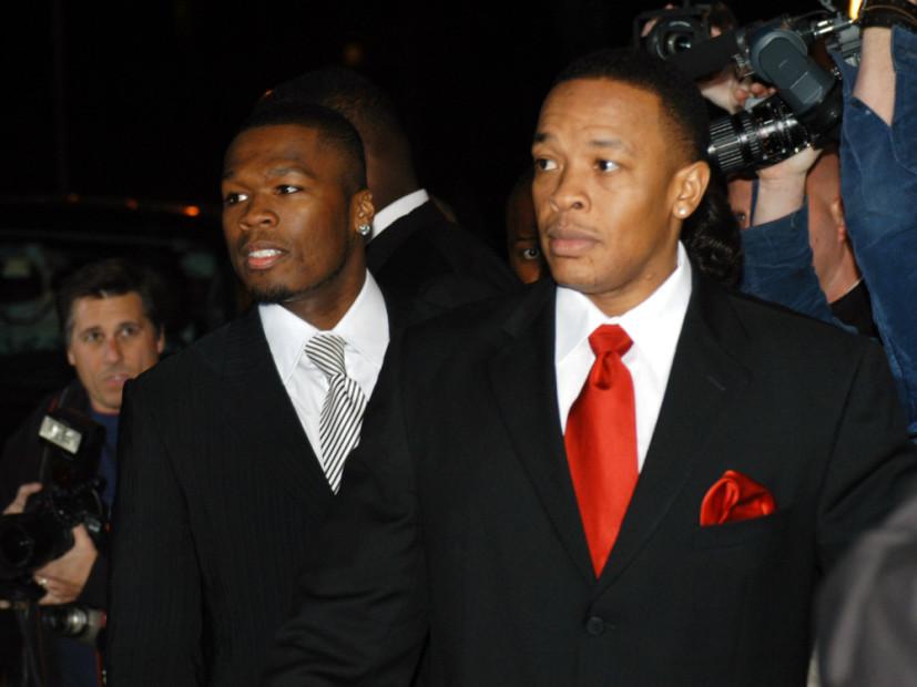"""50 Cent & Dr. Dre Sued Over """"P.I.M.P."""""""