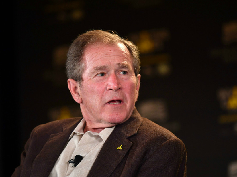 "George W. Bush ""In Much Better Shape"" Than Lookalike In Kanye West's ""Famous"" Video, Rep Says"