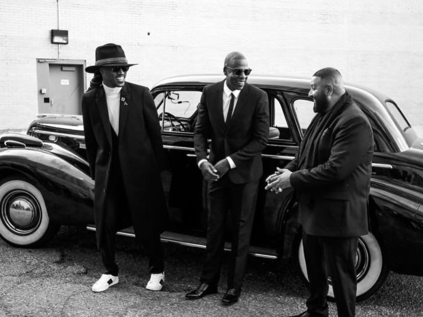 Jay Z, Future & DJ Khaled Shoot