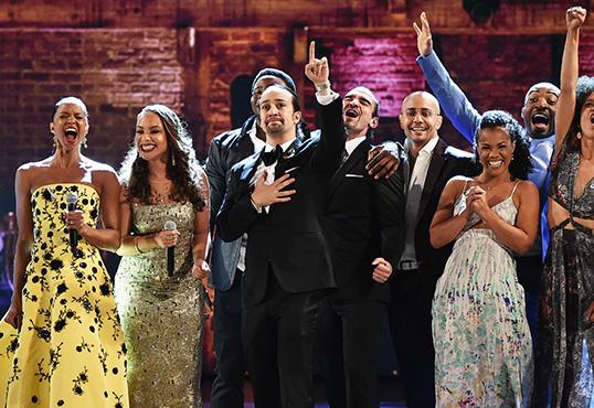 """Hip Hop Musical """"Hamilton"""" Dominates At Tony Awards"""