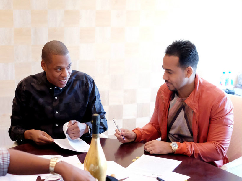 Jay Z Appoints Romeo Santos As First CEO Of Roc Nation Latin
