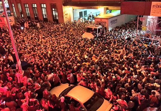 Kanye West Fans Flood New York Streets Seeking Secret Concert