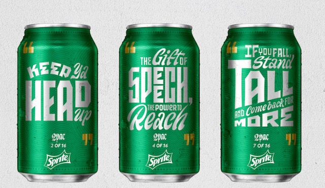 """Sprite Revamps """"Obey Your Verse"""" With Tupac, Missy Elliott & J. Cole"""
