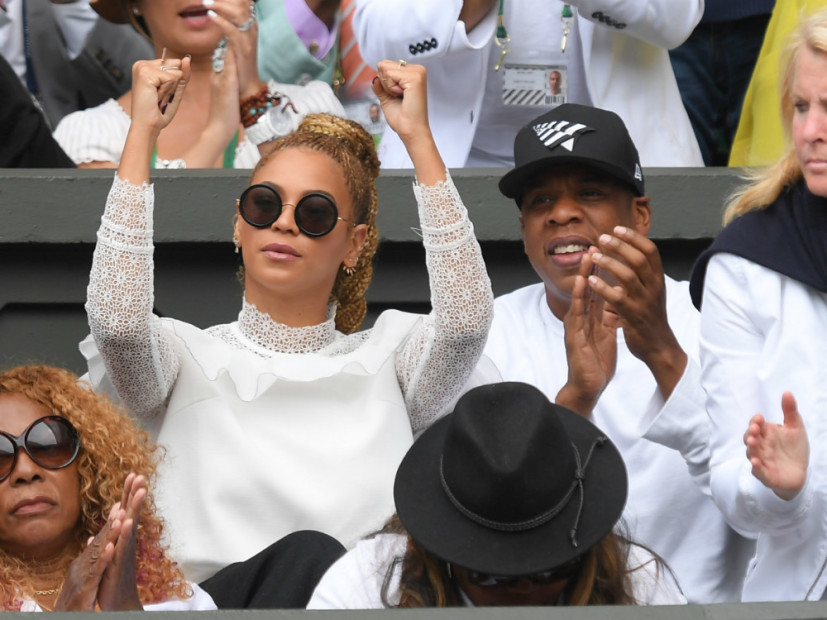Jay Z & Beyonce Cheer On Serena Williams To Wimbledon Title