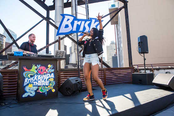 Dreezy Headlines Brisk's Sneak Out Sneak In Party