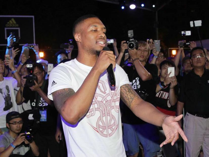 Damian Lillard Sells Out Rap Concert In Portland