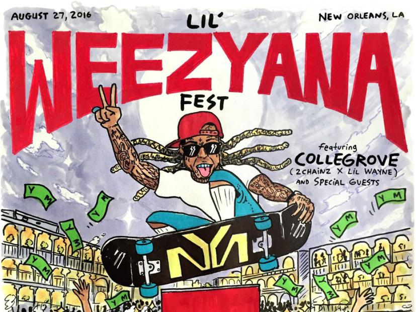 Lil Wayne's Second Lil Weezyana Fest Stream With 2 Chainz and Mystikal