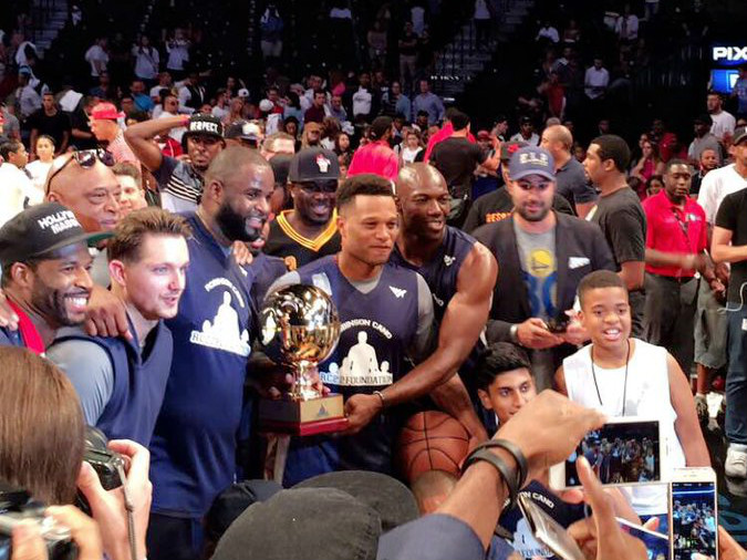 DJ Khaled, Fabolous, E-40 & Dave East Attend Roc Nation's 2016 Summer Classic Charity Basketball Tournament