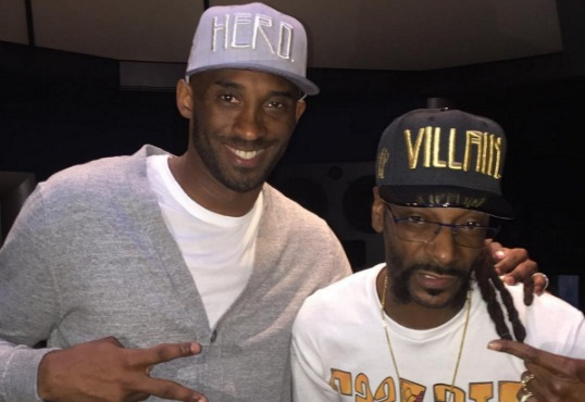 Snoop Dogg Blesses Kobe Bryant's Retirement With Lakers-Colored Convertible