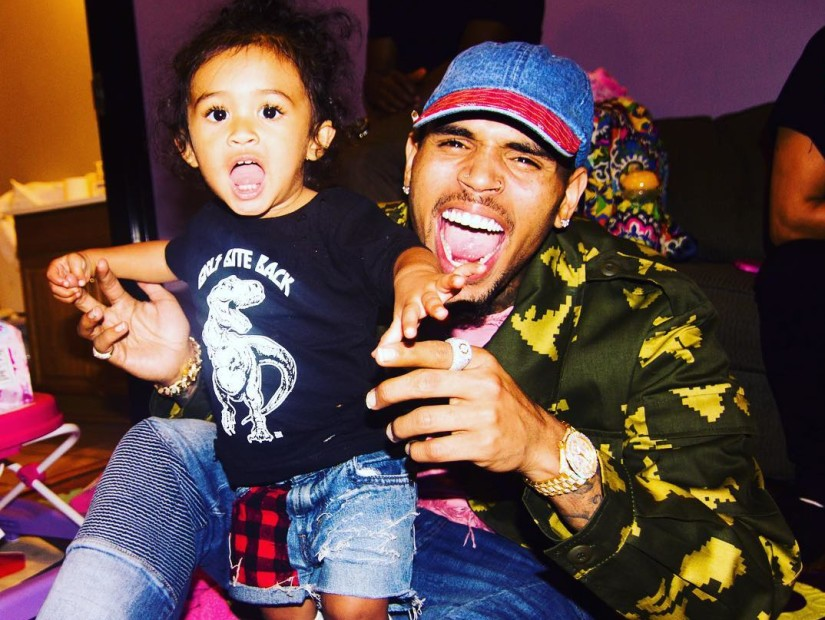 Chris Brown Victorious In Custody Battle With His Baby Mama