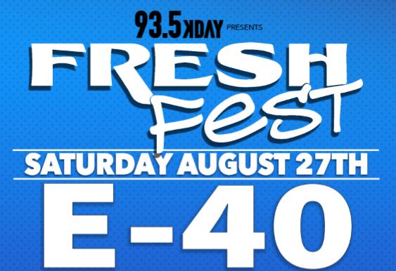 KDAY Fresh Fest Ticket Giveaway