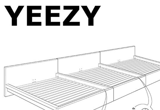 "IKEA Jokes It'll Make Kanye ""Famous"" With YEEZY Bed Design"