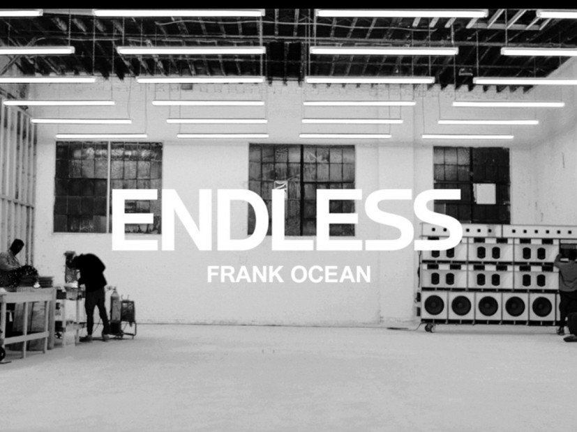 "Frank Ocean Drops ""Endless"" Visual Album & Plans To Release Another LP Not Called ""Boys Don't Cry"" This Weekend"