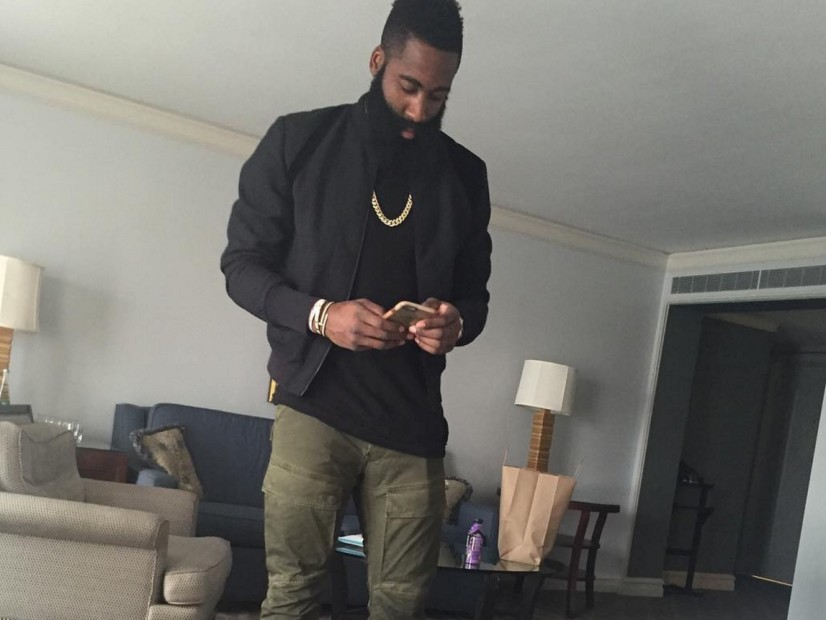 """Snapchat Jumpin': James Harden Gets Hyped For Meek Mill's """"Dreamchasers 4"""""""