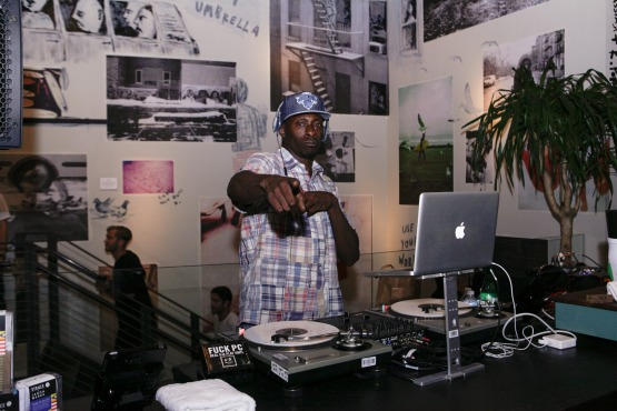 Pete Rock, Stance & Jason Markk Light The Olympic Torch At NYC Flagship Store