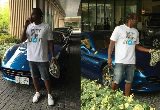 Pusha T & Hillary Clinton Support Prison Reform With #DeleteYourAccount Play Cloths T-Shirts