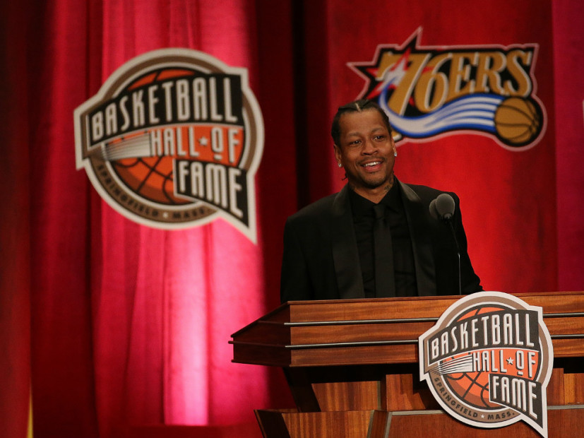 Allen Iverson Thanks Hip Hop Greats During Hall Of Fame Induction Speech