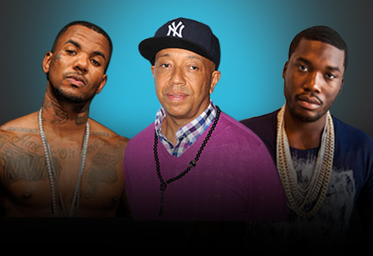 Russell Simmons Attempts Truce Between Game & Meek Mill Despite Manager's Stance