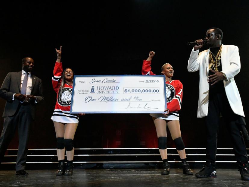 Diddy Donates $1M To Howard University