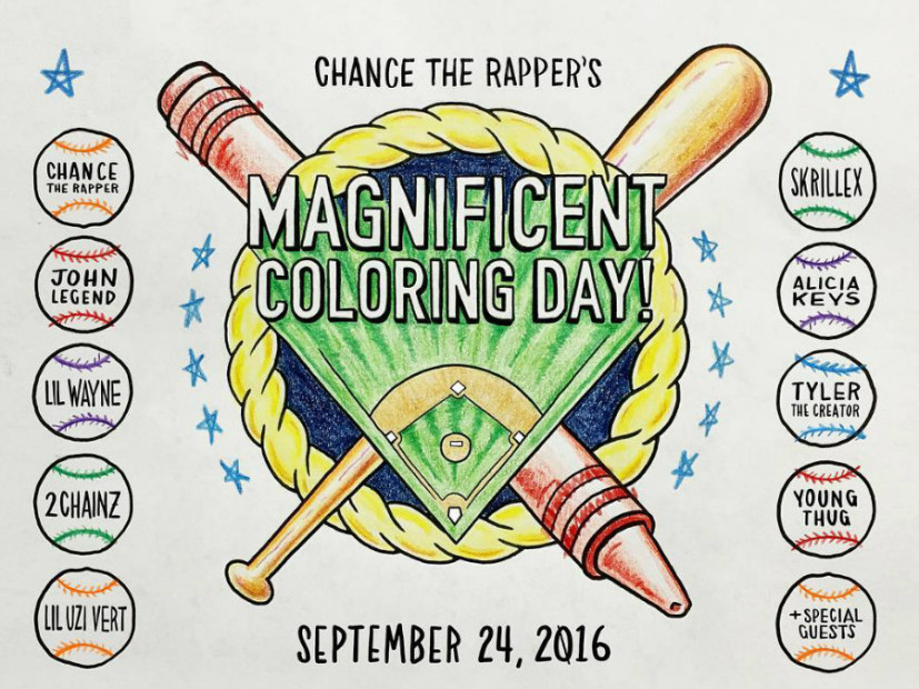 Watch Chance The Rapper's Magnificent Coloring Day Mega-Concert Live
