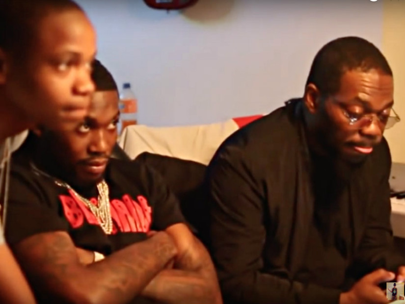 "Video Surfaces Of Meek Mill's Studio Session With Beanie Sigel & Omelly For ""OOOUUU"""