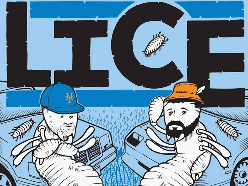 """Aesop Rock & Homeboy Sandman Team Up For """"Lice Two"""" EP"""