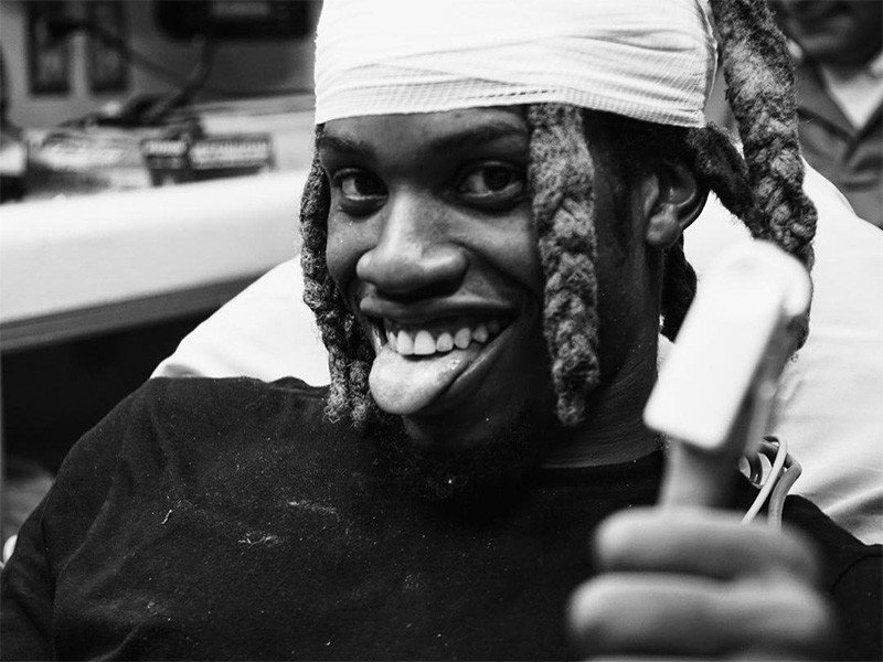 Denzel Curry Injured At Concert After Tumbling Into Women's Bathroom