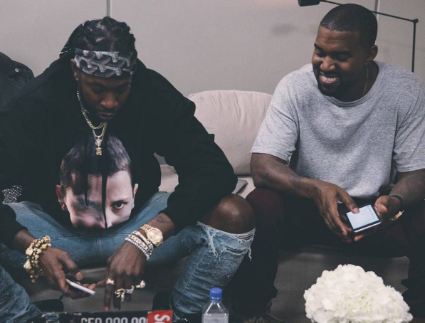 Kanye West Ditches Cell Phone For Creative Purposes