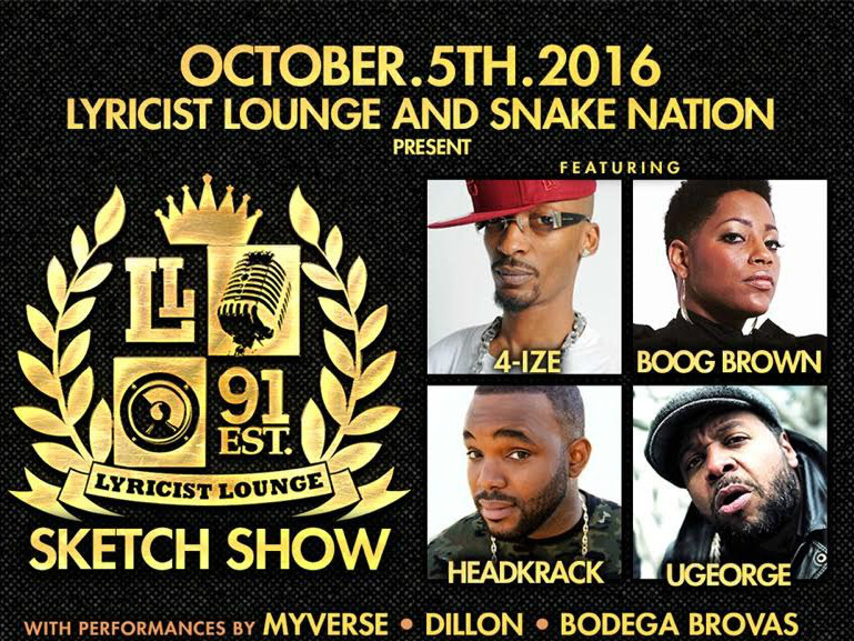 The Lyricist Lounge Making A Grand Return At 2016 A3C Festival