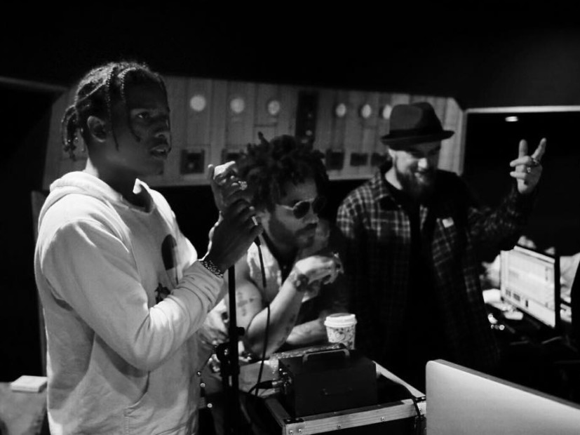A$AP Rocky Reportedly Working On New Album With Lenny Kravitz & Jim Jonsin
