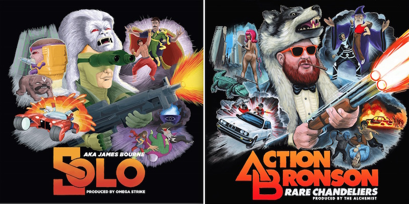 Solo Action Bronson Marvel