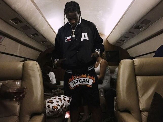 Travis Scott Selling Condoms & Shot Glasses To Fans