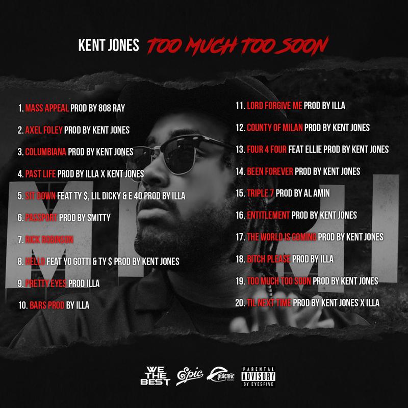 kent jones too much too soon mixtape back