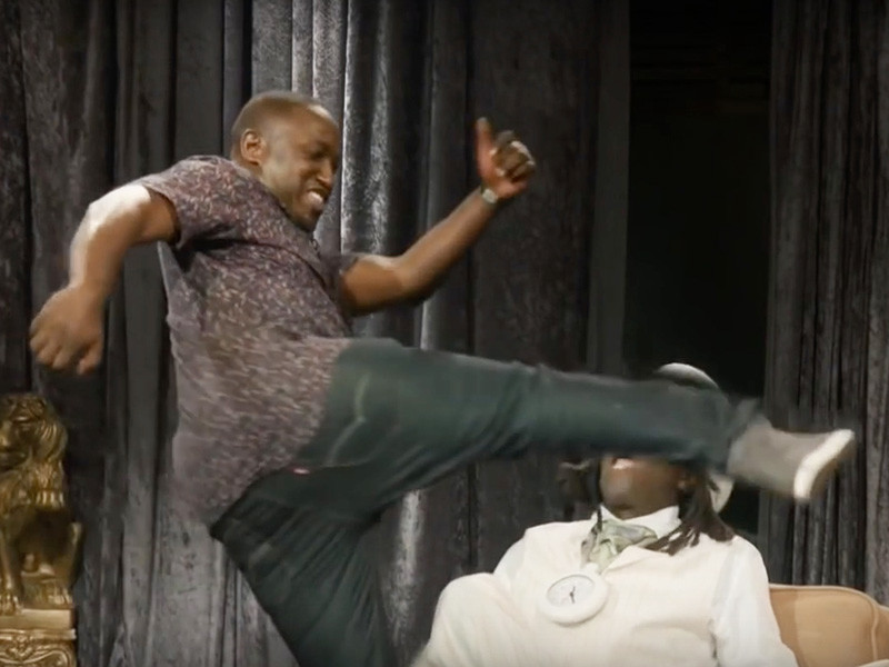 "Flavor Flav Pissed ""Eric Andre Show"" Edited Hannibal Buress Kicking His Teeth In"